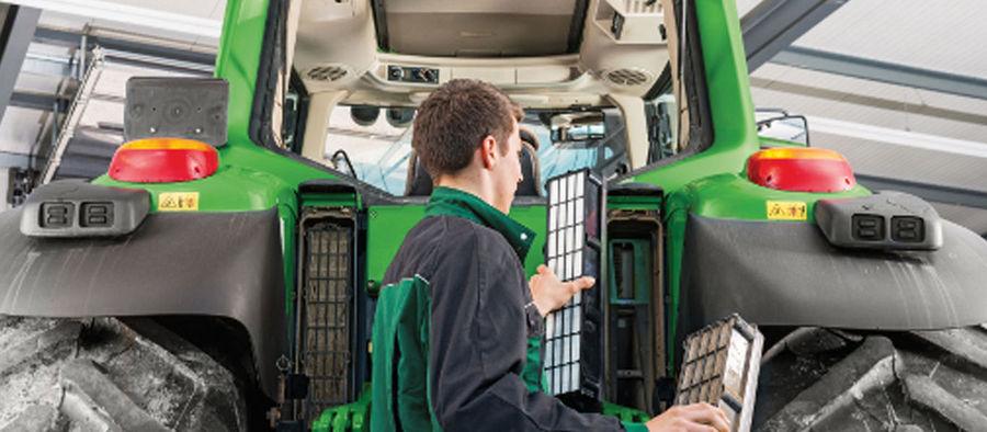 обслуживание и ремонт сельскохозяйственной техники