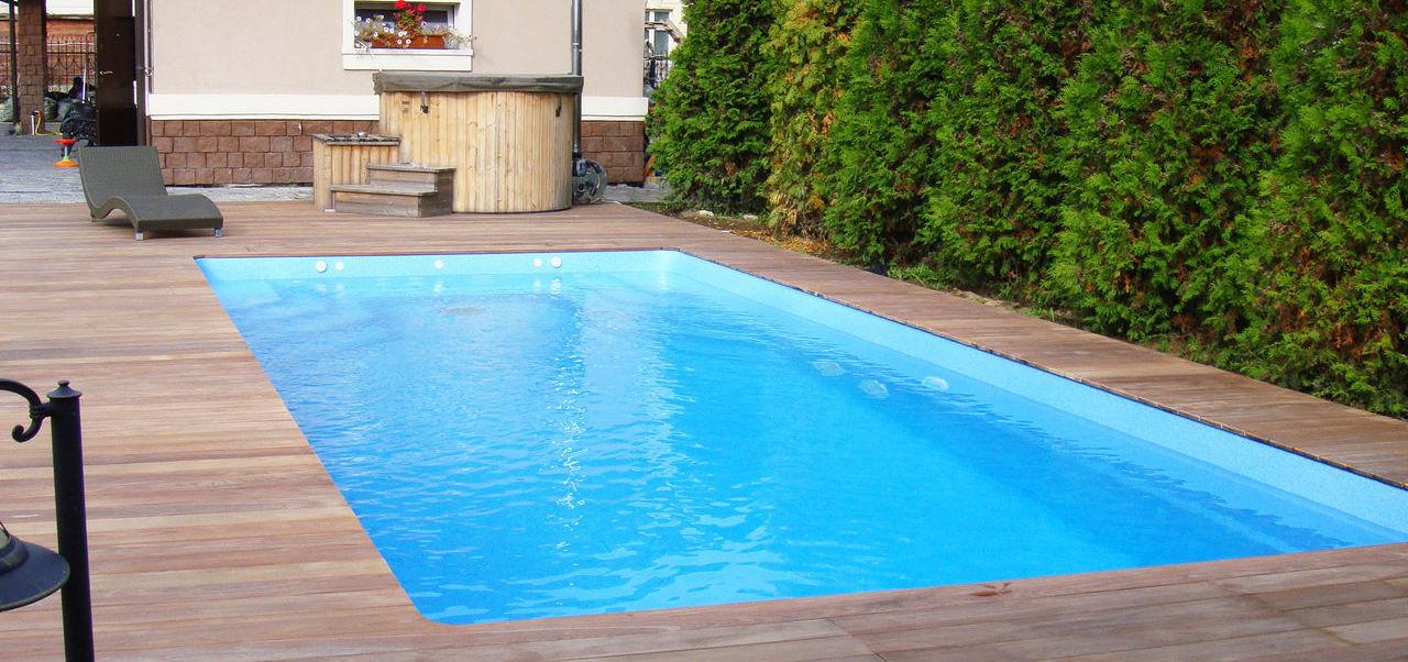 монтаж бассейнов