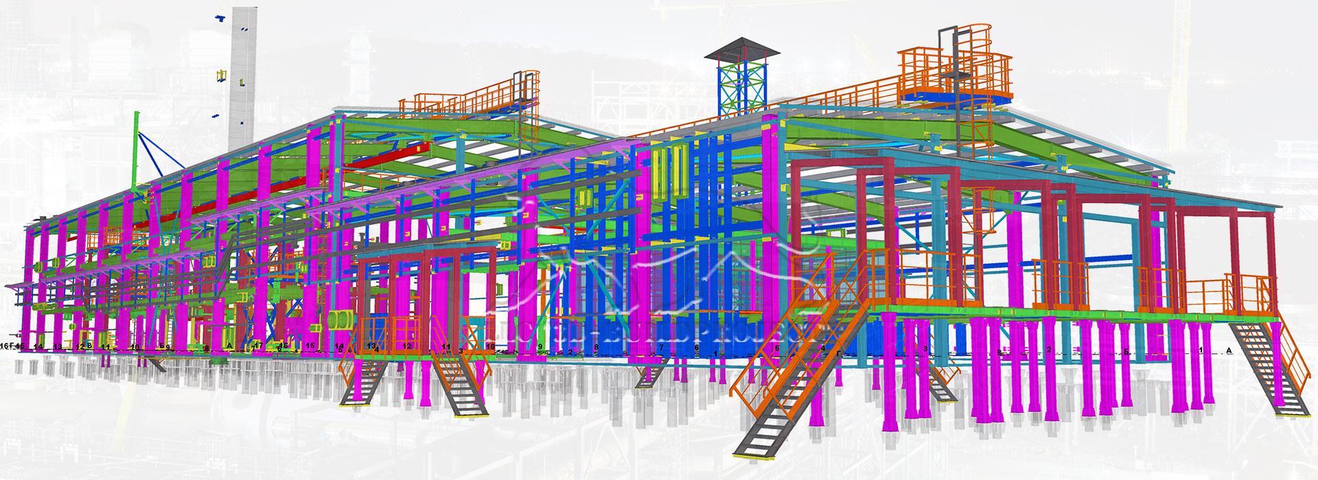 проектування пром споруди