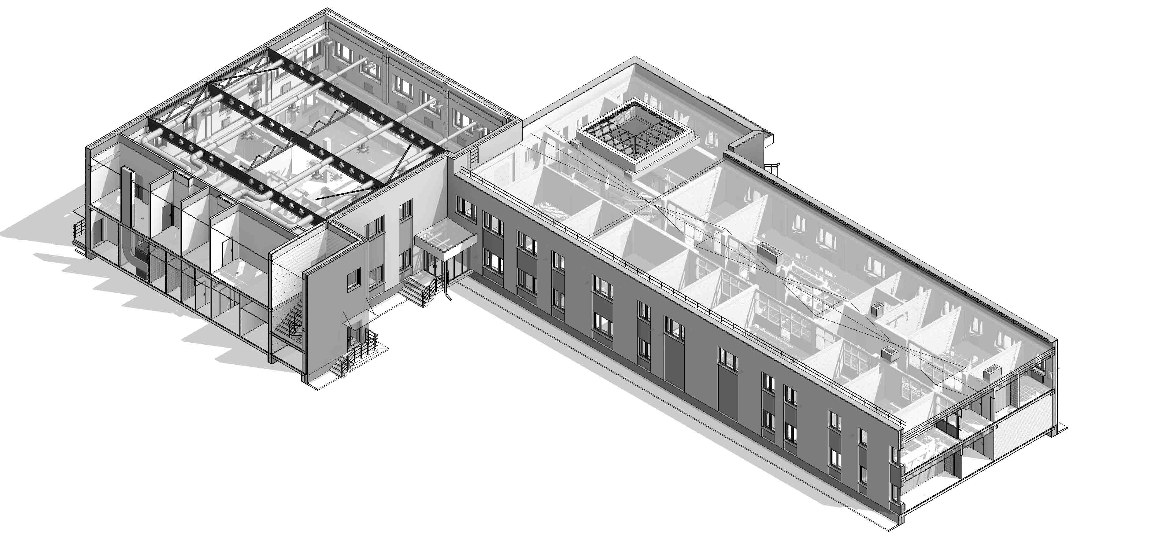 модель проектування промислової споруди