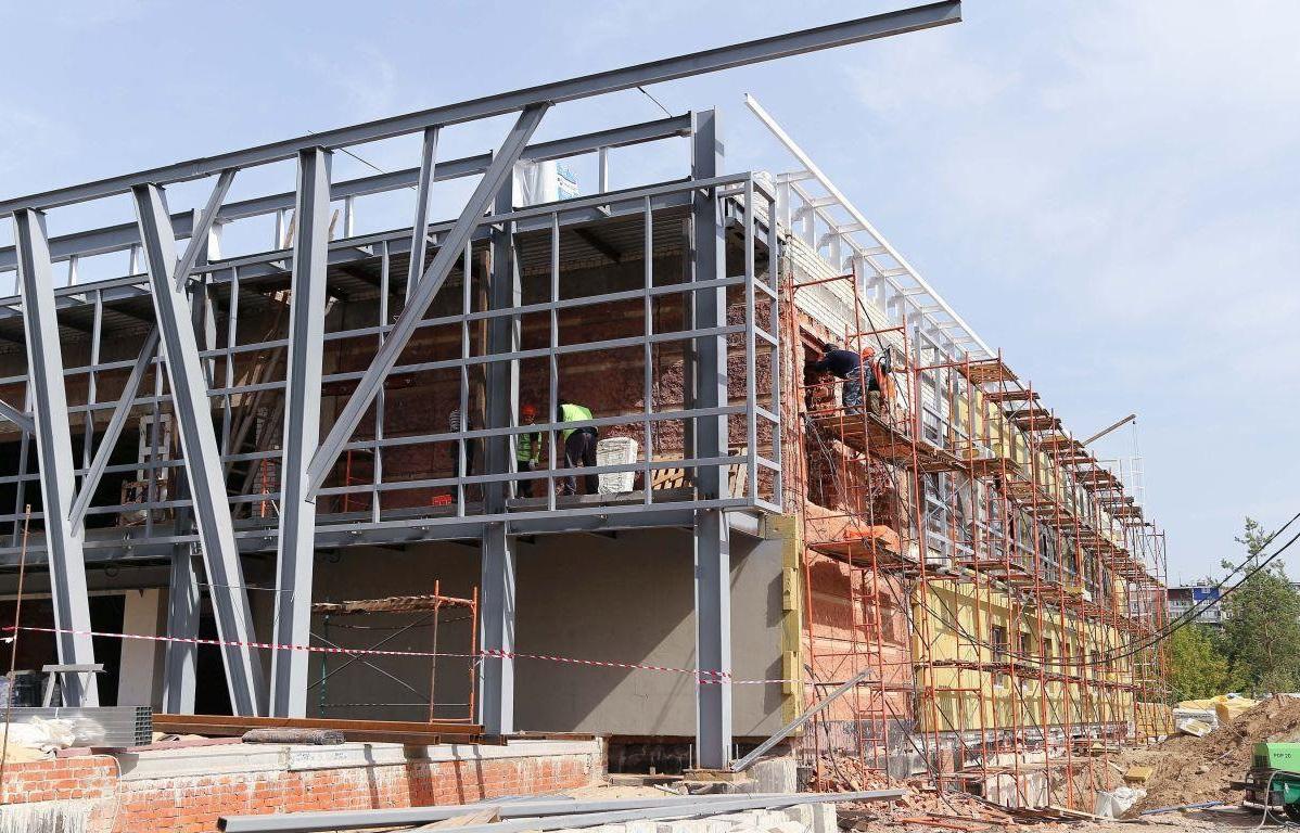 приклад реконструкції споруди