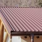 Особенности шумоизоляции крыши из профнастила
