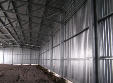 Ангар для сельскохозяйственной техники (г. Черкассы) photo 1 photo 2