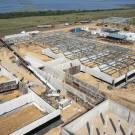 Продолжается строительство крупнейшей в Украине фермы по выращиванию креветок